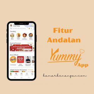 3 Fitur Andalan Yummy App, Urusan Masak Jadi Gampang