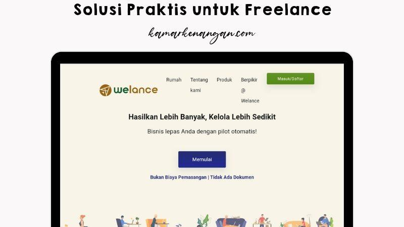 Welance Solusi Praktis untuk Freelance